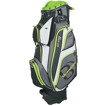 df9c18cd52 Amazon.com   Bennington QO-14 Quiet Organizer Golf Cart Bag - Lime   Sports    Outdoors