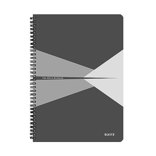15 opinioni per Leitz Blocco per appunti A4 con copertina in carta plastificata, 90 fogli, A