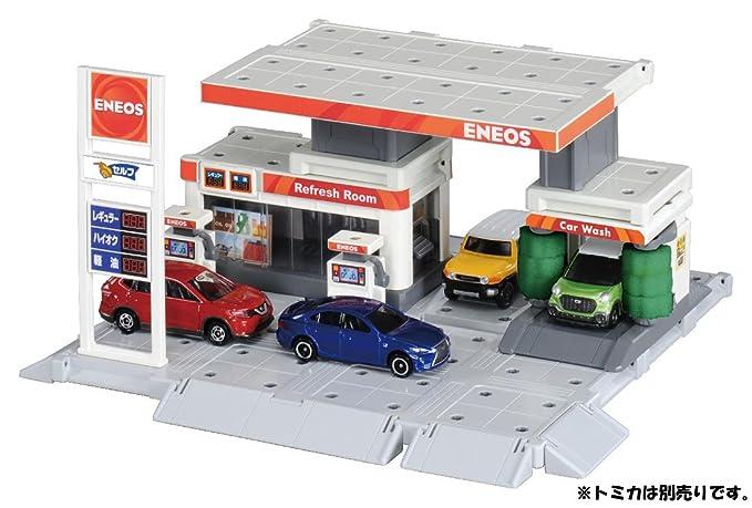 Takara Tomy Tomica Town Build City Gas Station Children Toy