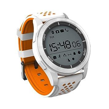 XHZNDZ Reloj Impermeable IP68 Reloj Inteligente Bluetooth Reloj de Entrenamiento F3 Fitness Tracker Sleep Monitor Smartwatch