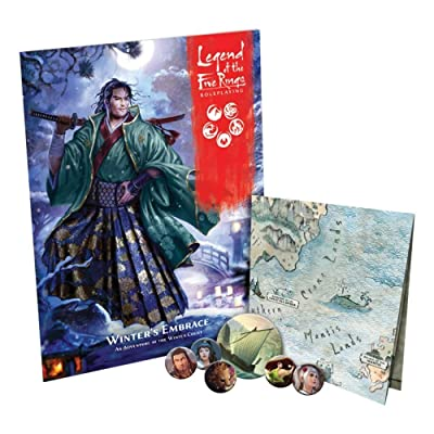 Legend of The Five Rings RPG: Winter's Embrace: Toys & Games