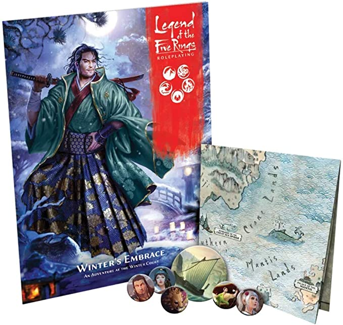 Mantis Clan Pack The Shadows Embrace Legend Of The 5 Rings L5R TWO New pack