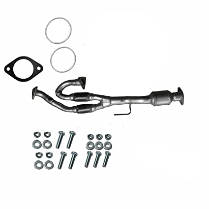 catalytic converter w/y-pipe fits 2005-2006 nissan maxima 3 5l automatic |  2004-2009 nissan quest 3 5l | 2005-2006 nissan altima 3 5l, catalytic  converters