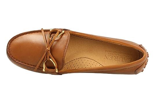 Ralph Lauren Mokassins 802-664541-002 Briley Marron: Amazon.de: Schuhe &  Handtaschen