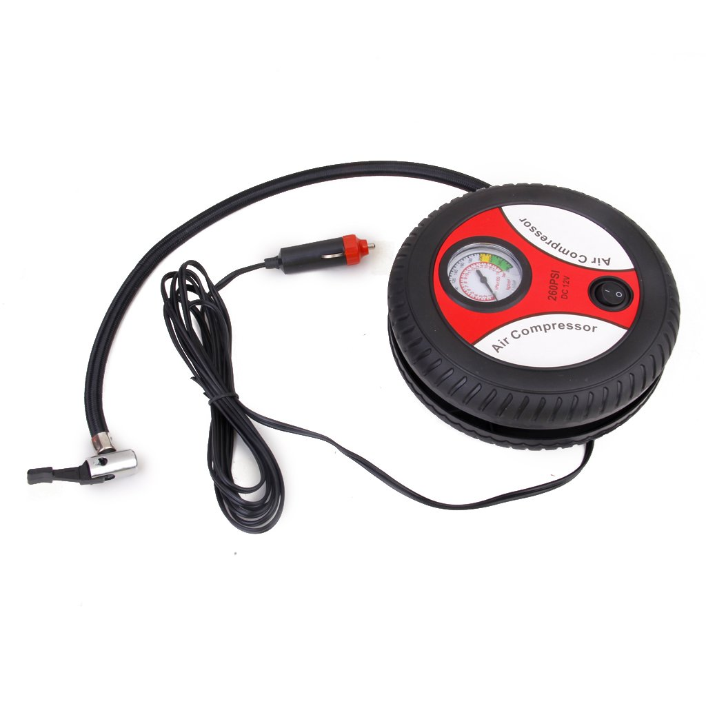Amazon.com: DC12V 3 in 1 Mini Tire Inflator Air Compressor 260PSI Car Auto Pump: Automotive
