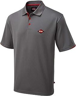 Lee Cooper-Polo LCTS017 t_shirt_grande, colore: grigio