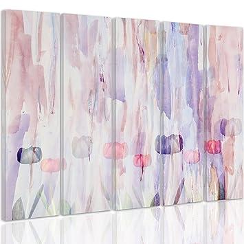 feeby Rahmen, extra große mehrteilige Leinwand – 5-Paneele – Art ...