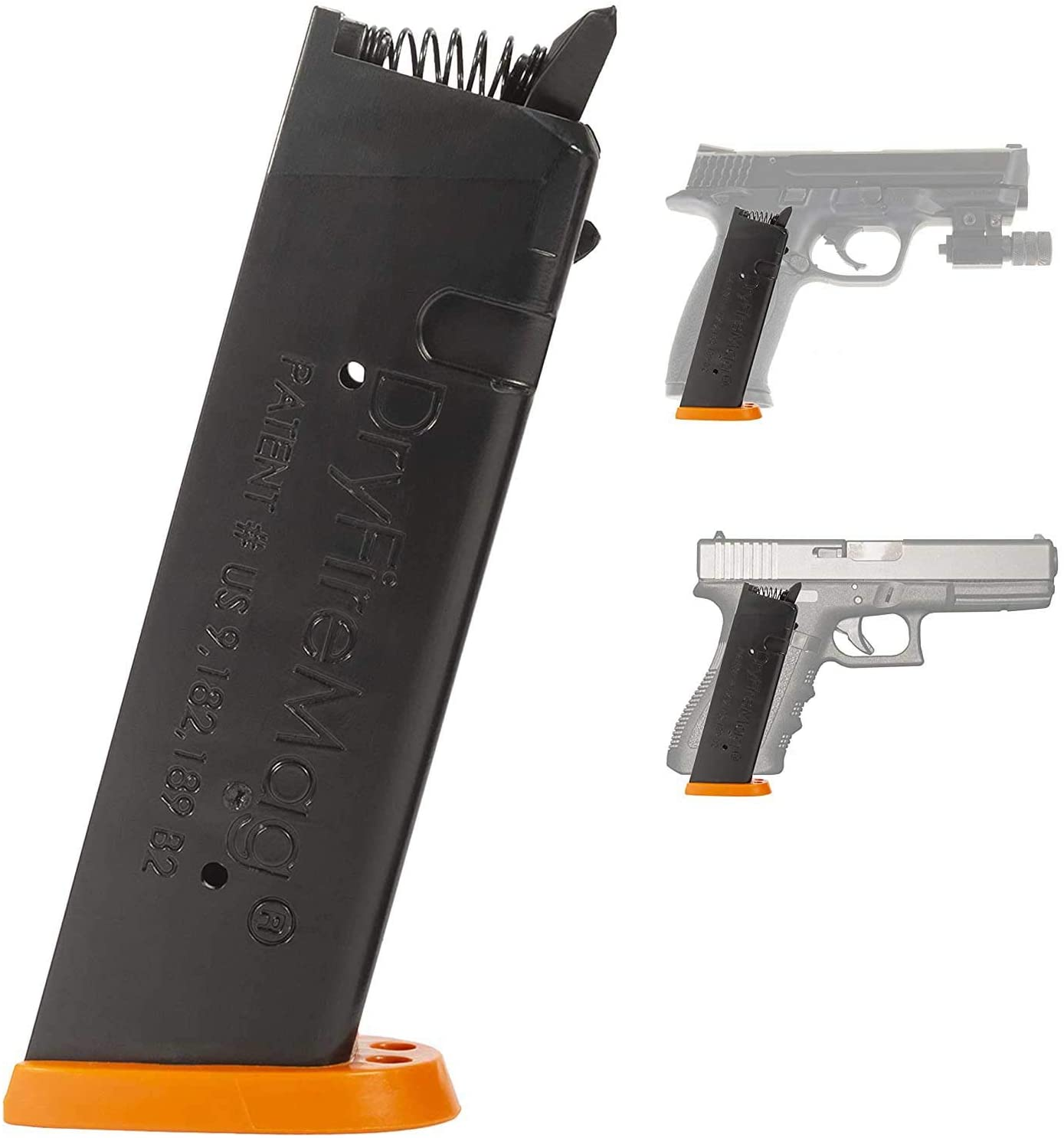 Amazon Com Dryfiremag Training Magazine For Smith Wesson M P Dry Fire Training With Audible Tactile Simulation Apex Trigger Compatible Safe For Use At Home And Uses No Ammo Sports