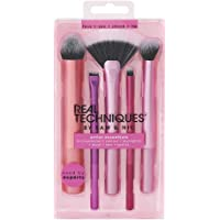 Real Techniques Artist Essentials Complete Face Makeup Brush Set for Makeup Artist Inspired Looks