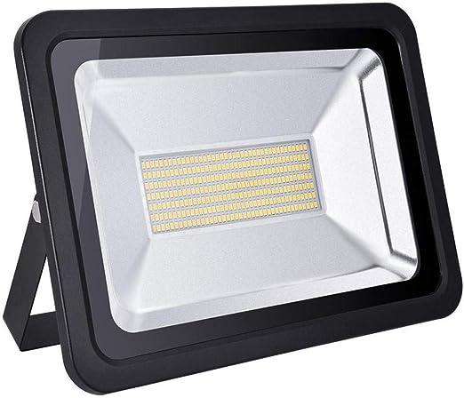 WYJZHEN Proyector LED 100W súper Brillante 10000LM Foco Exterior ...