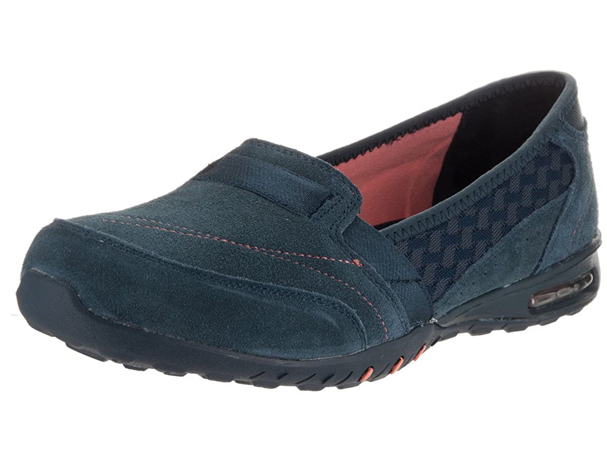 0862759204053 Skechers Relaxed Fit Easy Air Ember Womens Slip On Loafers Navy 10 ...