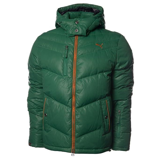 PUMA Piumino da Uomo Mountain Down Jacket, Uomo, Folletto