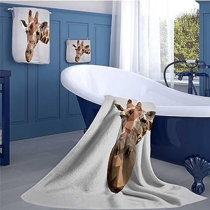 alisoso Angel - Juego de Toallas de baño de Lujo con diseño de ángeles espirituales y