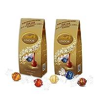 Lindt 瑞士莲 软心精选巧克力分享装 600g*2袋(瑞士进口)(亚马逊自营,供应商配送)