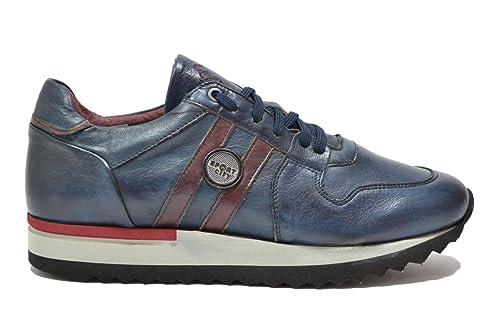 Melluso Sneakers scarpe uomo blu U90090 41  Amazon.it  Scarpe e borse 52814fdb7c4