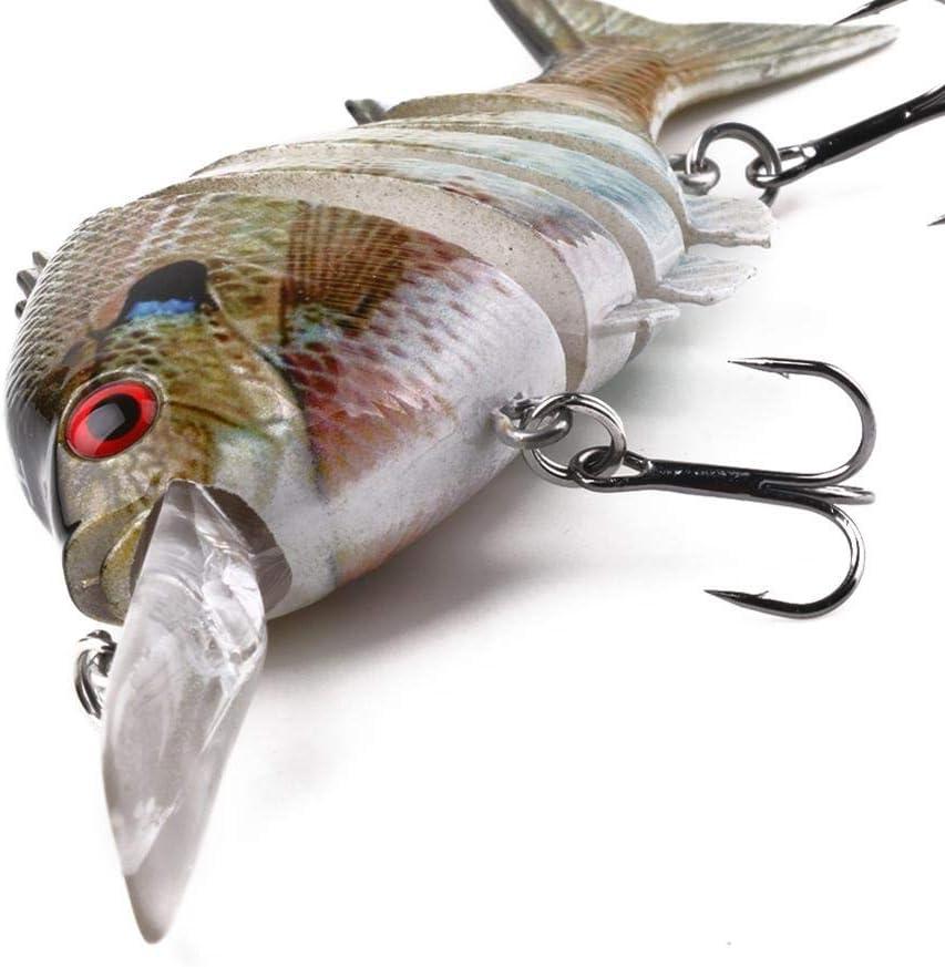 10cm 13g H/élice Simulaci/ón De Cola Giratoria Pescado Se/ñuelo De Cebo De Pesca con Anzuelo NICEJW Se/ñuelo De Pesca