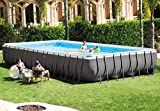 Intex 32ft X 16ft X 52in Rectangular Ultra Frame Pool Set with Filter Pump & Saltwater System