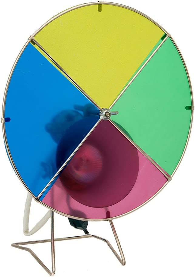 Kurt Adler Early Years Revolving Color Wheel Red/Blue/Green/Yellow