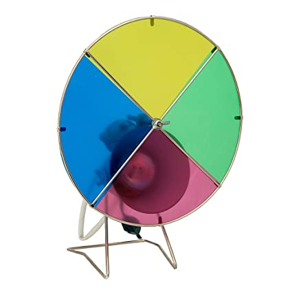 Amazon Com Kurt Adler Early Years Revolving Color Wheel Red Blue