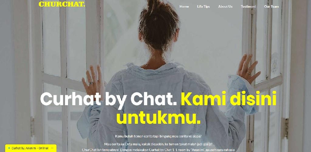 Chat anonim 5 Aplikasi