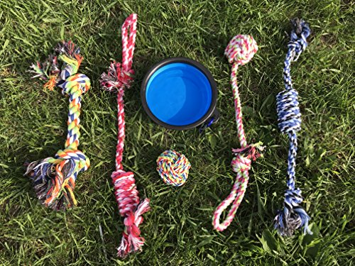 WOOF EXPRESS Dog Rope Chew Toy for Pets