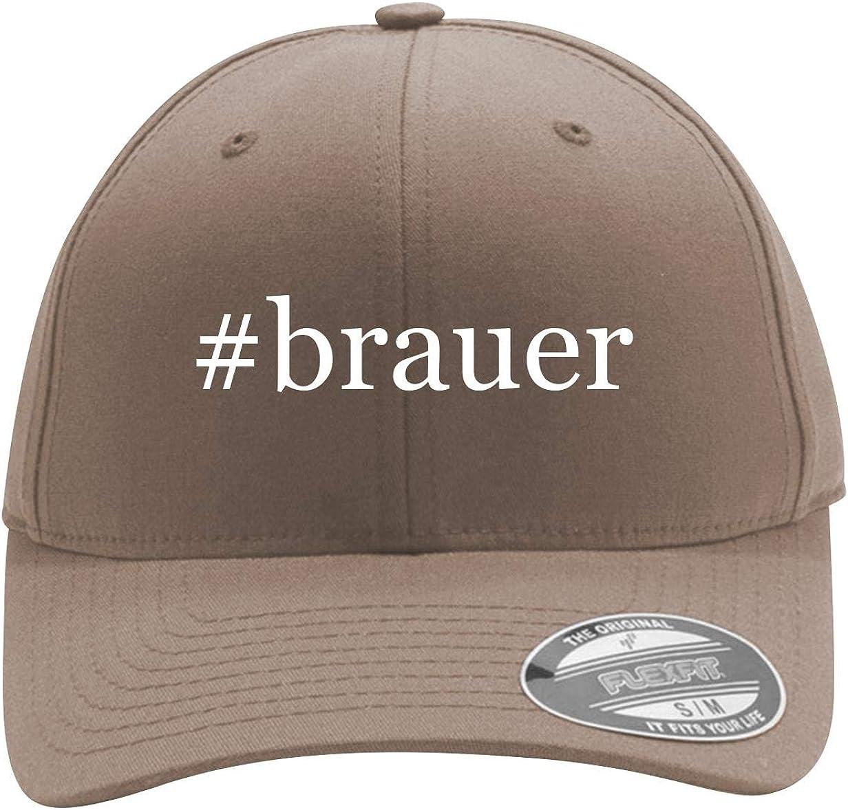 #Brauer - Men's Hashtag Flexfit Baseball Cap Hat 61QjFw14zHL