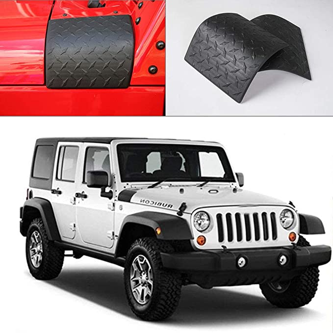 RT-TCZ Cowl Body Armor Cover Sport Exterior Accessories Parts for Jeep Wrangler Rubicon Sahara JK /& Unlimited 2007-2017 US Flag