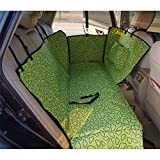 Sunshines Waterproof Dog Seat Cover for Cars SUV Adjustable Pet Hammock Blanket Mat