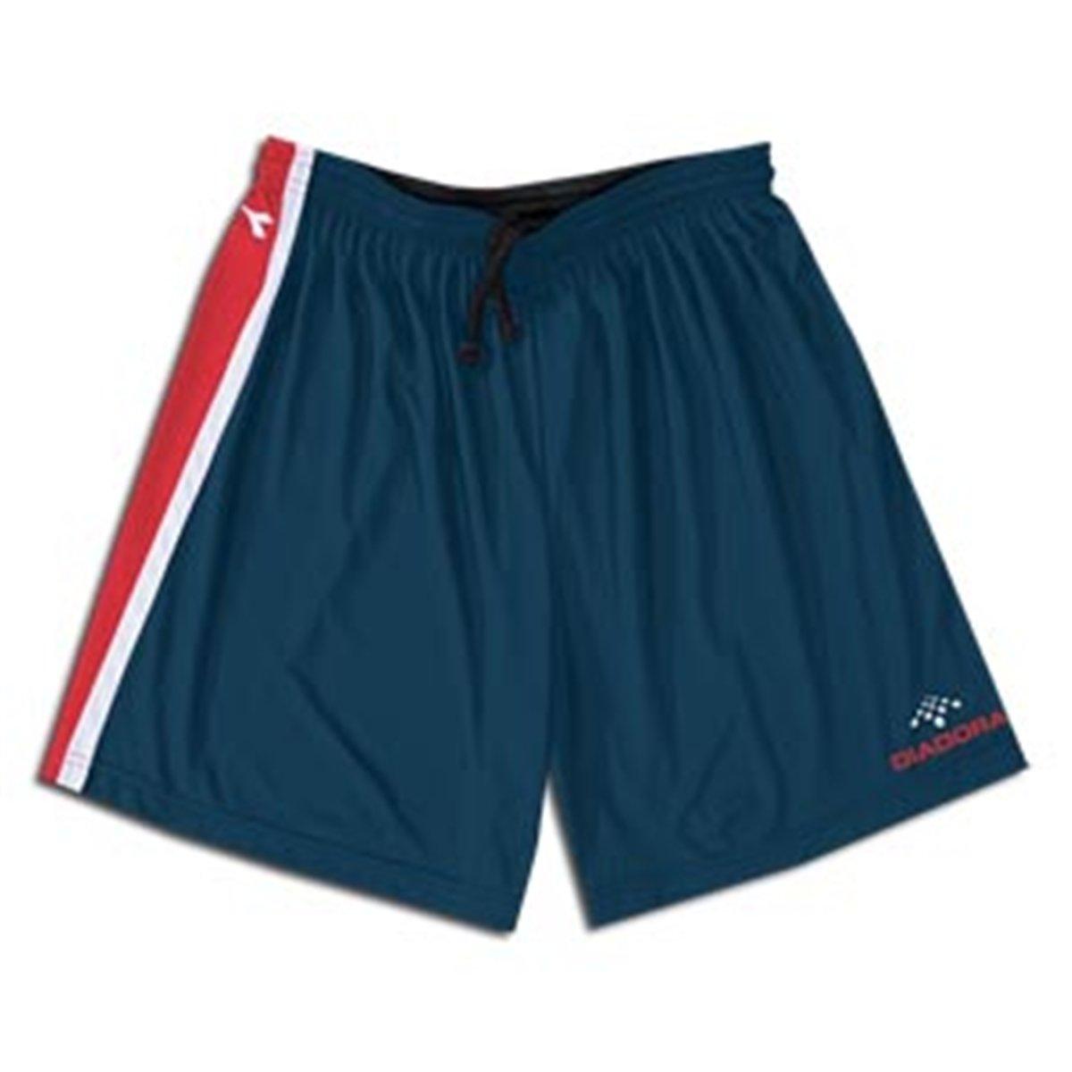 Diadora Serie A Soccer Shorts ( SN ) B000LQVFTI S|Navy / Red /White Navy / Red /White S