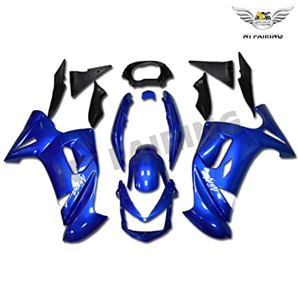 Amazon.com: NT FAIRING Blue Fairing Fit for KAWASAKI NINJA ...