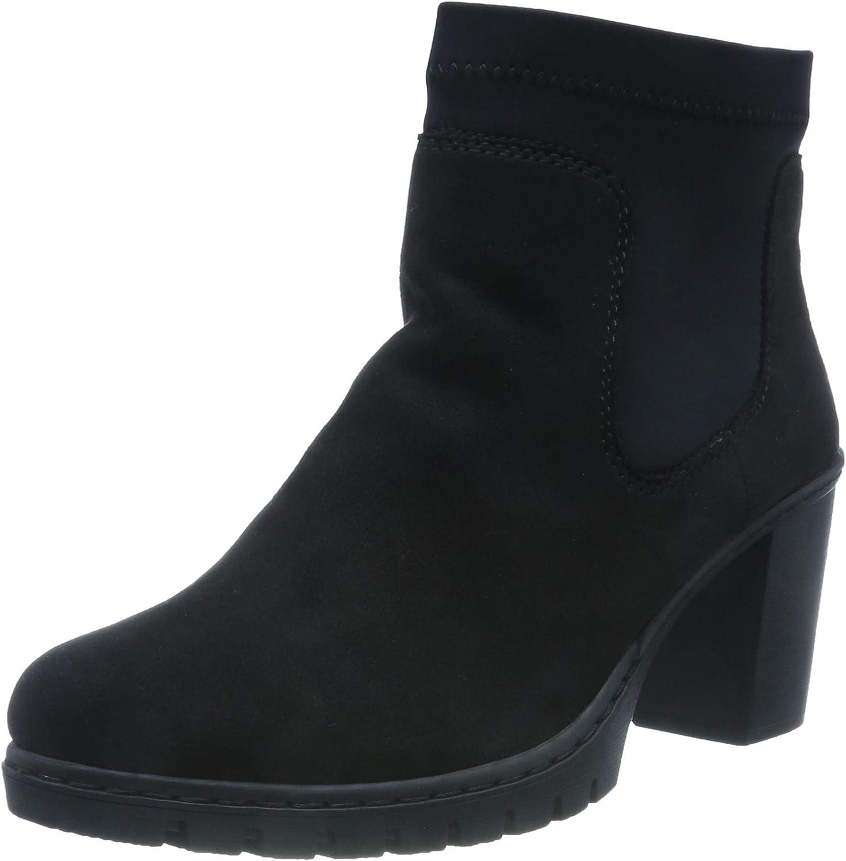 Rieker Damen Z7392 Hohe Stiefel, Schwarz (schwarzschwarz 00), 38 EU
