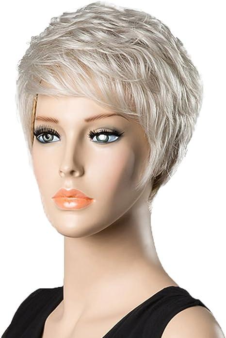 Sensational Baoblaze Natural Real Human Hair Wigs Pixie Cut Short Wigs Schematic Wiring Diagrams Phreekkolirunnerswayorg