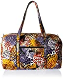 Women's Large Duffel, Signature Cotton, Painted Feathers