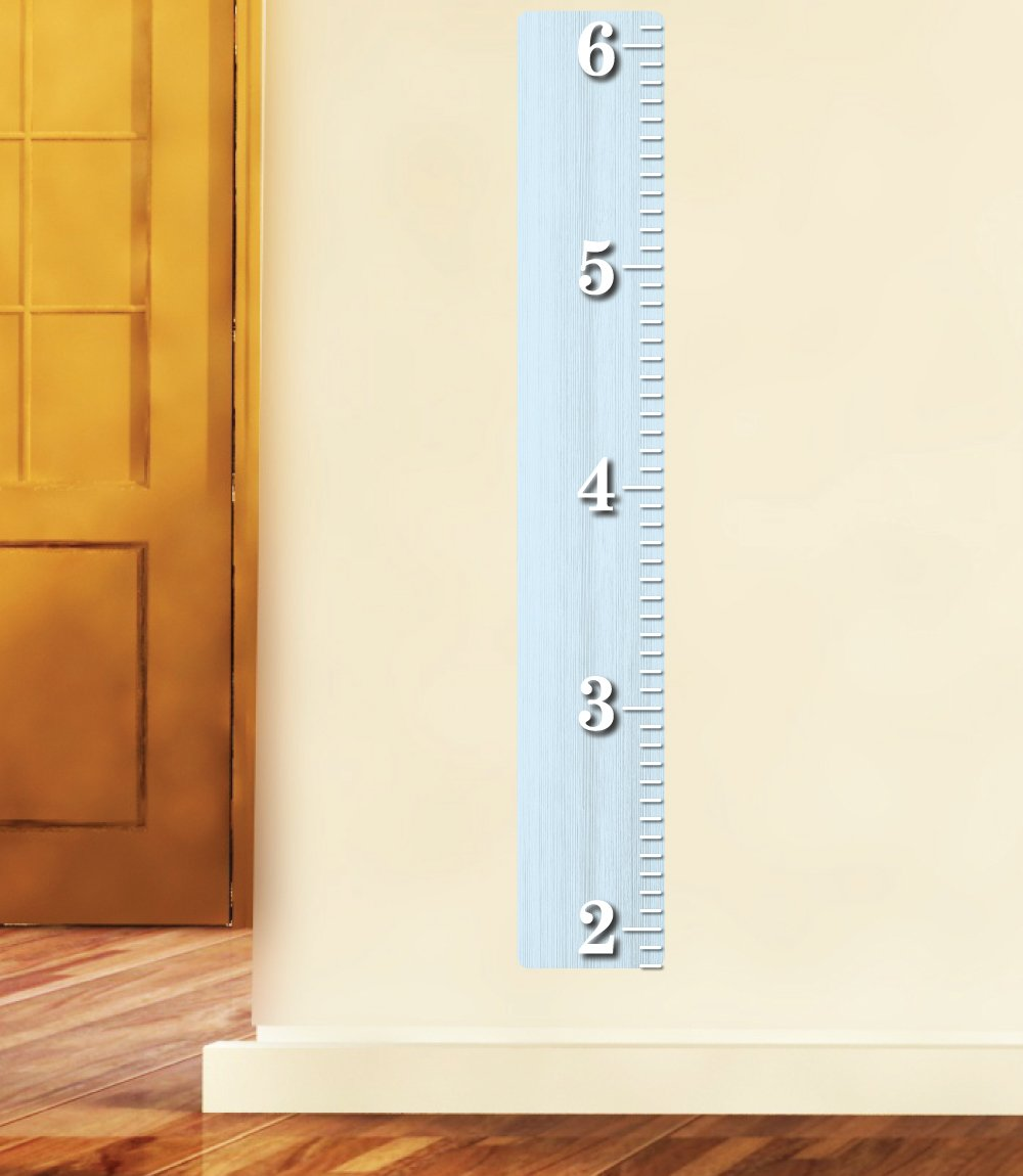 Amazon white wooden ruler growth chart wood ruler height amazon white wooden ruler growth chart wood ruler height chart wall decal wall sticker baby nvjuhfo Image collections