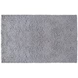 Little Love by NoJo Shag Nursery Rug, Solid Grey, 3'9'' x 5'9''