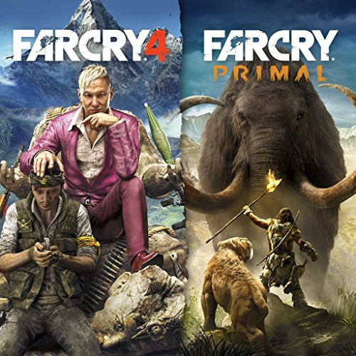 Far Cry 4 + Far Cry Primal Bundle - PS4 [Digital Code] by Ubisoft