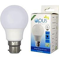 3 x Opus 6W = 40W LED GLS BC B22 Bayonet Cap Light Bulbs Daylight Energy Saving Lamps Pack