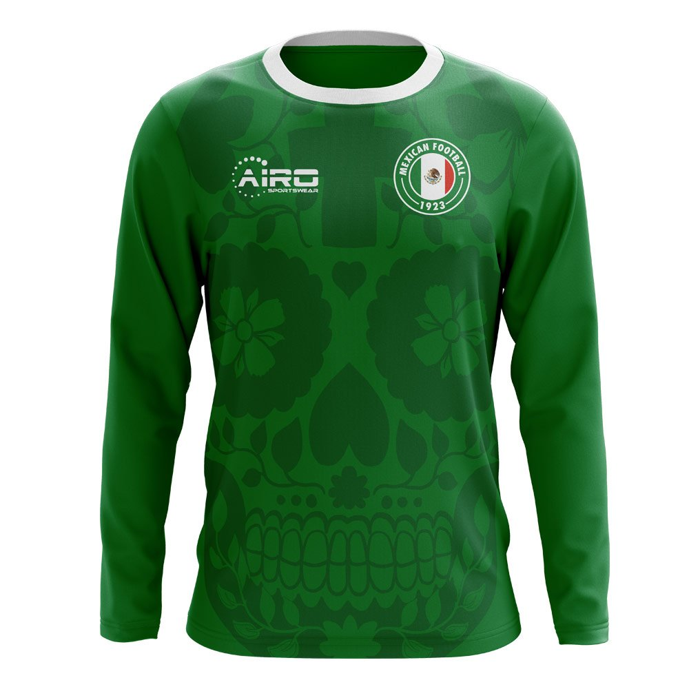 Airo Sportswear 2018-2019 Mexico Long Sleeve Home Concept Football Soccer T-Shirt Trikot