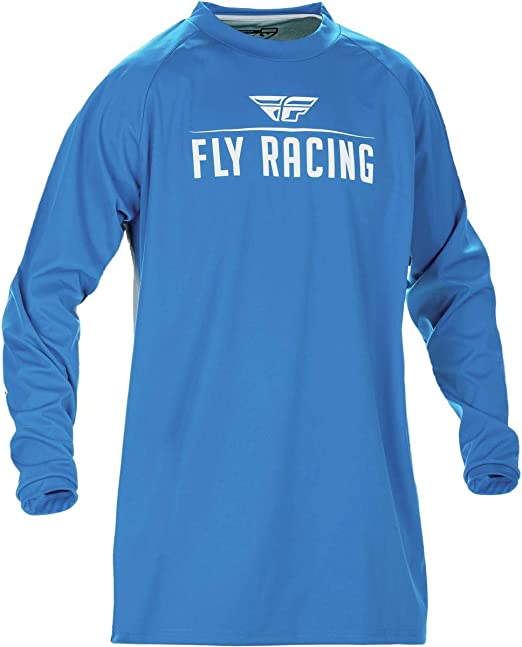 Blue//Yellow//White, XX-Large Fly Racing Unisex-Adult Eva Jersey