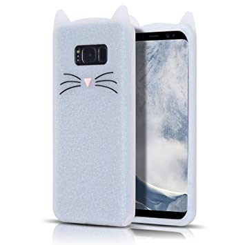 coque samsung s8 silicone chat 3d