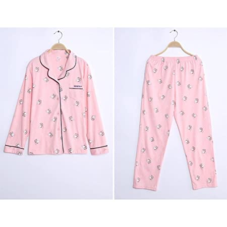 moxin Women Sleepwear Long Sleeve Autumn and Winter Cotton Night Gown  Service Service 1  XXL  Amazon.co.uk  Kitchen   Home 5b49ca8cd