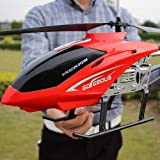 Lotees Large Remote Control Helicopter RC Aircraft Drone Outdoor Toys Adult Charging Remote Electric Fall-Resistant Aircraft