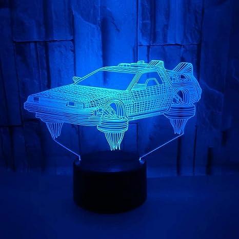 Noche Bombilla cambio de color Lámpara de mesa Salón Reloj F š ¹ r ...