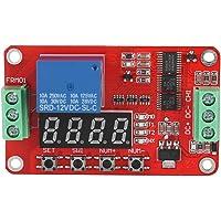 FRM01 Multifunktion oändlig slipning timing självlåsrelä cykel timer modul automatiseringsfördröjning