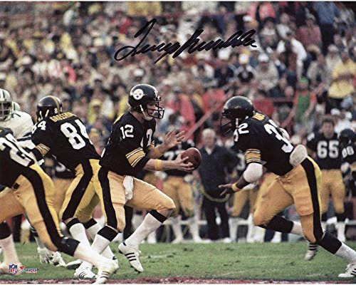 (Terry Bradshaw Pittsburgh Steelers Autographed 8