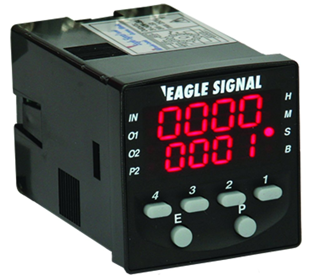 Eagle Signal Multifunction Led Timer With Relay Outputs Compact Add Beautiful Car Brake Lights By Bc327 Size Multiple Timing Functions Easy To Program Surface Or Panel Mount Part B506 5001