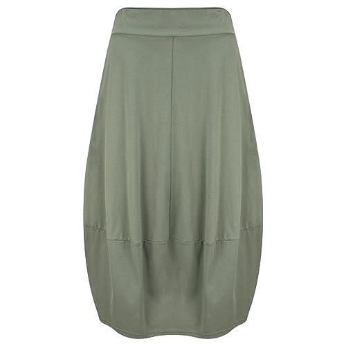 Mama B - Falda - para mujer Salvia-dark sage green medium