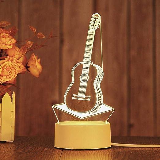 Wangwang454 Luz De Noche En 3D Decoración Led Regalos Creativos ...