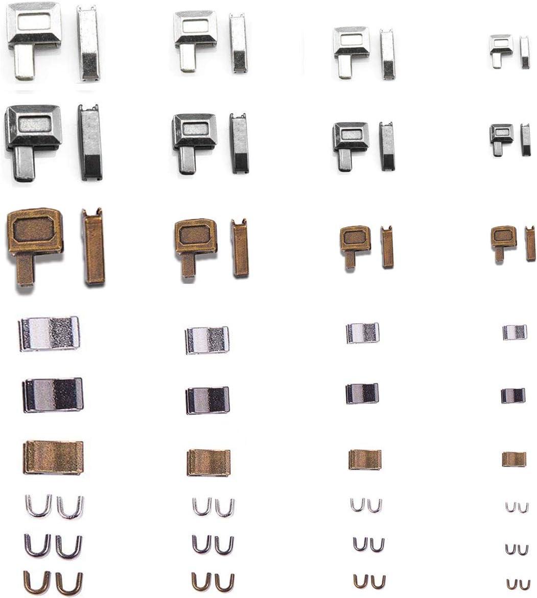 4 Style Abnehmbar und frei kombinierbar ersatz Zipper f/ür rei/ßverschluss zum Kleidung und Taschen U/&X Rei/ßverschluss Zipper Schieber
