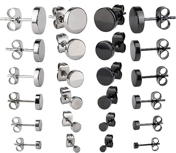 Ohrhänger Set Damen Ohrring Earrings in 12pair Mädchen Ohrstecker